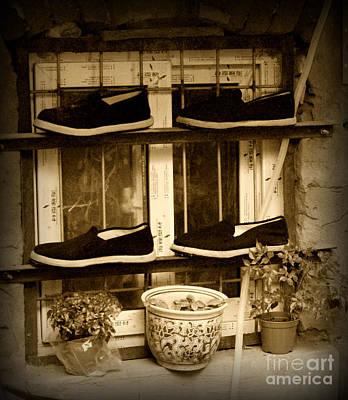 Shoes Art Print by James Yang