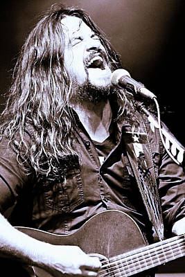 Photograph - Shooter Jennings - Country Rock by Elizabeth Hart
