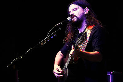 Photograph - Shooter Jennings - Live by Elizabeth Hart
