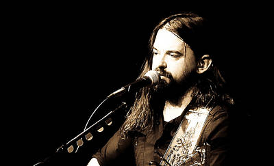Photograph - Shooter Jennings - Man Of Mind by Elizabeth Hart