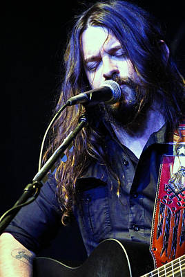 Photograph - Shooter Jennings - The Way It Is by Elizabeth Hart