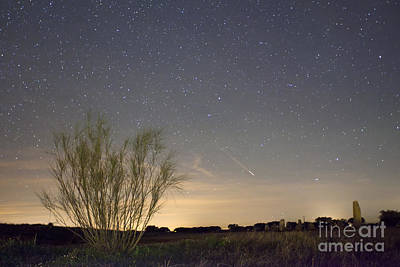 Alqueva Photograph - Shooting Star by Andre Goncalves