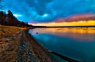 Shoreline Art Print by Jason Naudi Photography