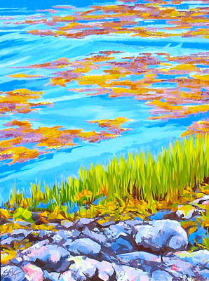 Painting - Shoreline by Sarah Gayle Carter