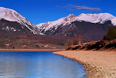 Photograph - Shores Of Lake Dillon by Paul Svensen