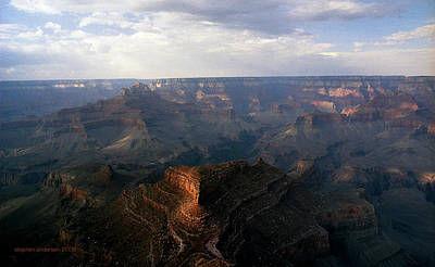 Photograph - Shoshone Point Grand Canyon Arizona by Stephen Andersen