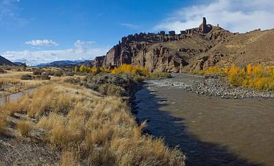Shoshone Photograph - Shoshone River Near Yellowstone by Twenty Two North Photography