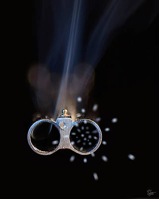 Photograph - Shotgun Blast by Endre Balogh