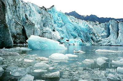Photograph - Shoup Glacier by Frank Townsley