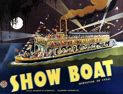 Helen Paul Photograph - Show Boat, Bottom From Left Irene by Everett