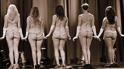 Photograph - Show Girls by Elizabeth Hart
