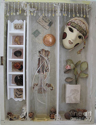 Fabric Mixed Media - Showbiz Left by Sandy McIntire