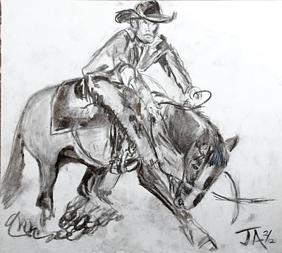 Drawing - Showing To Sell II by Jim  Arnold