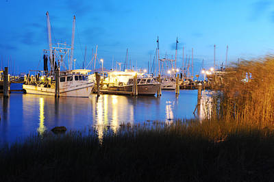 Pass Christian Ms Wall Art - Photograph - Shrimp Boats  by Giffin Photography