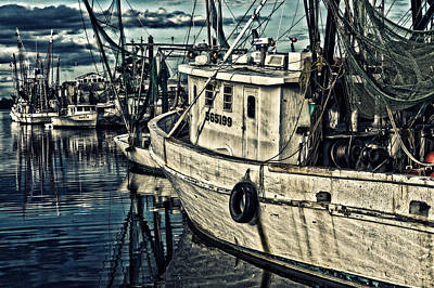 Shrimpers Art Print
