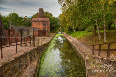 Photograph - Shropshire Canal by Adrian Evans