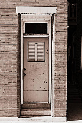 Photograph - Shut The Front Door by Lora Mercado