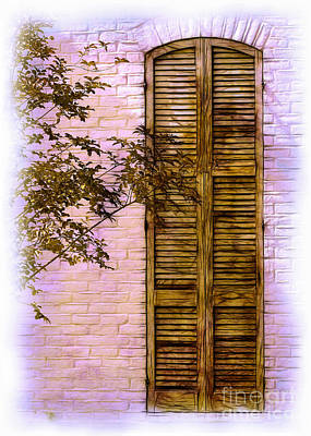 Photograph - Shuttered Doorway by Judi Bagwell