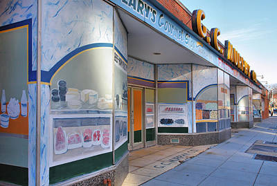 Shuttered Food Store Art Print by Steven Ainsworth