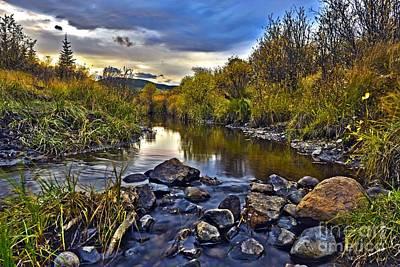 Photograph - Sibald Creek by Edward Kovalsky