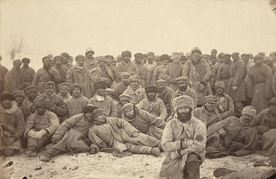 1880s Photograph - Siberia, A Group Of Hard-labor by Everett