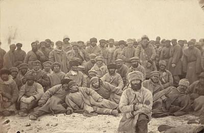Siberia, A Group Of Hard-labor Art Print by Everett