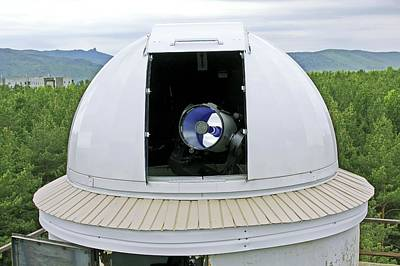 Aperture Photograph - Siberian Federal University Telescope by Ria Novosti