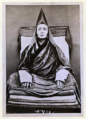 Siberian Lama. The Buryat Grand Lama Art Print