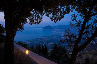 Photograph - Sicilian Dusk by Marco Busoni