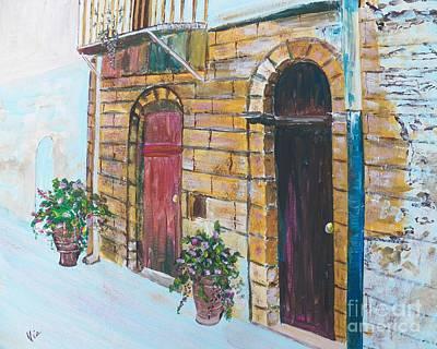 Sicilian Home Original by Judy Via-Wolff