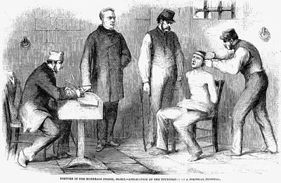 Sicily: Torture, 1860 Art Print