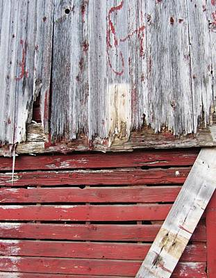Photograph - Side Of A Barn by Todd Sherlock