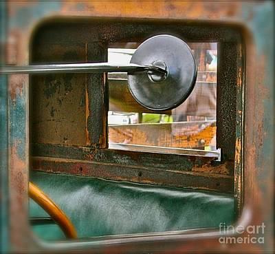 Side View Window Art Print by David  Hubbs