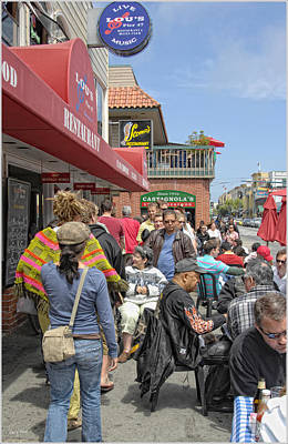 Photograph - Sidewalk Cafe-2 by Gary Rose