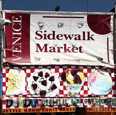 Photograph - Sidewalk Market by John Rizzuto