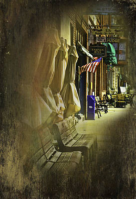 Photograph - Sidewalk Of Wallace by Dale Stillman