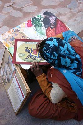 Sidewalk Sale Art Print by Tia Anderson-Esguerra