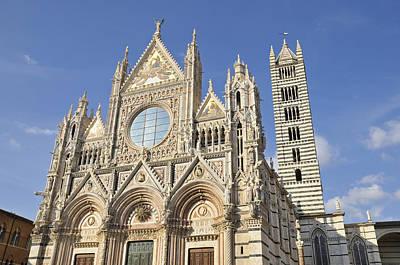 Siena Cathedral - Duomo Santa Maria Assunta Art Print by Matthias Hauser