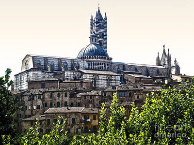 Siena Italy - Siena Cathedral -02 Art Print by Gregory Dyer