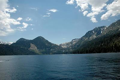 Nevada Lake Tahoe Photograph - Sierra Mountains by LeeAnn McLaneGoetz McLaneGoetzStudioLLCcom