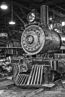 Photograph - Sierra Railroad Engine #3 by Jim And Emily Bush