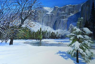 Sierra Winter Art Print by Robert Duvall