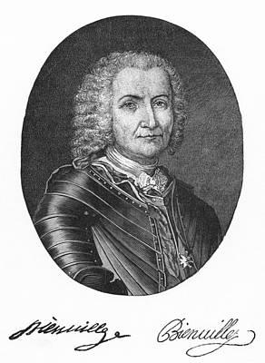Sieur De Bienville (1680-1747) Art Print