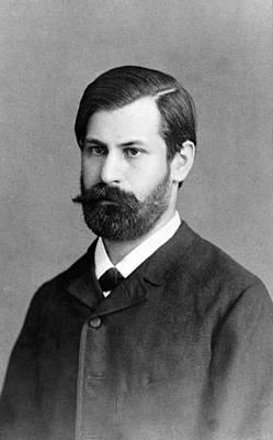 Sigmund Freud 1856-1939, In 1885, When Art Print by Everett