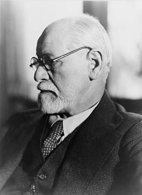 Sigmund Freud 1856-1939, In The 1930s Print by Everett