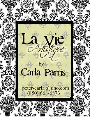 Photograph - Sign For La Vie Artistique  by Carla Parris