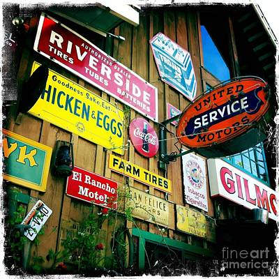 Art Print featuring the photograph Signs Of A Great Place by Nina Prommer