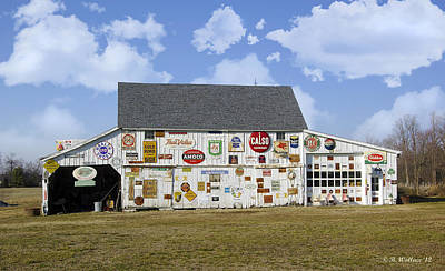 Shed Digital Art - Signs Of The Times by Brian Wallace