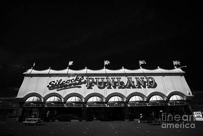 Funland Photograph - Silcocks Funland Amusements Southport Pier Seafront Merseyside England Uk by Joe Fox