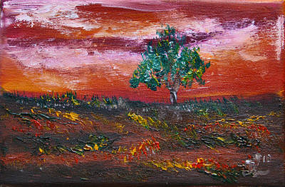 Painting - Silence In The Dawn by James Bryron Love